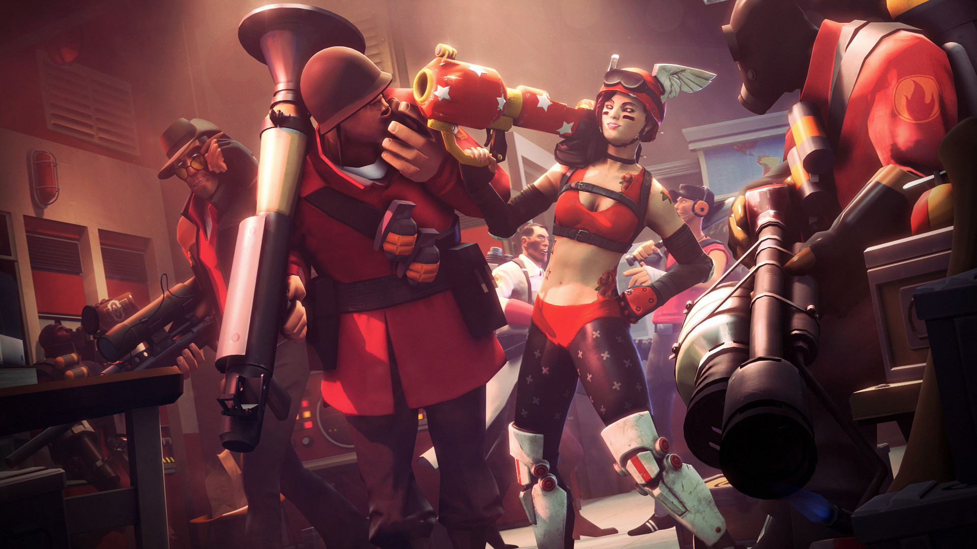 1920x1080 Valve Introducing Harsher Penalties for Team Fortress 2 Competitive  Quitters - SegmentNext