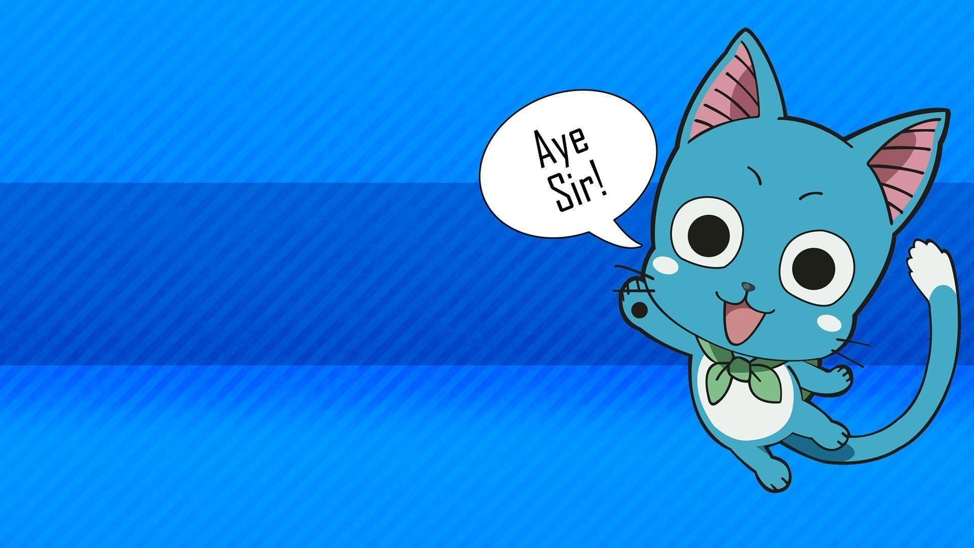 Fairy Tail Happy Chibi