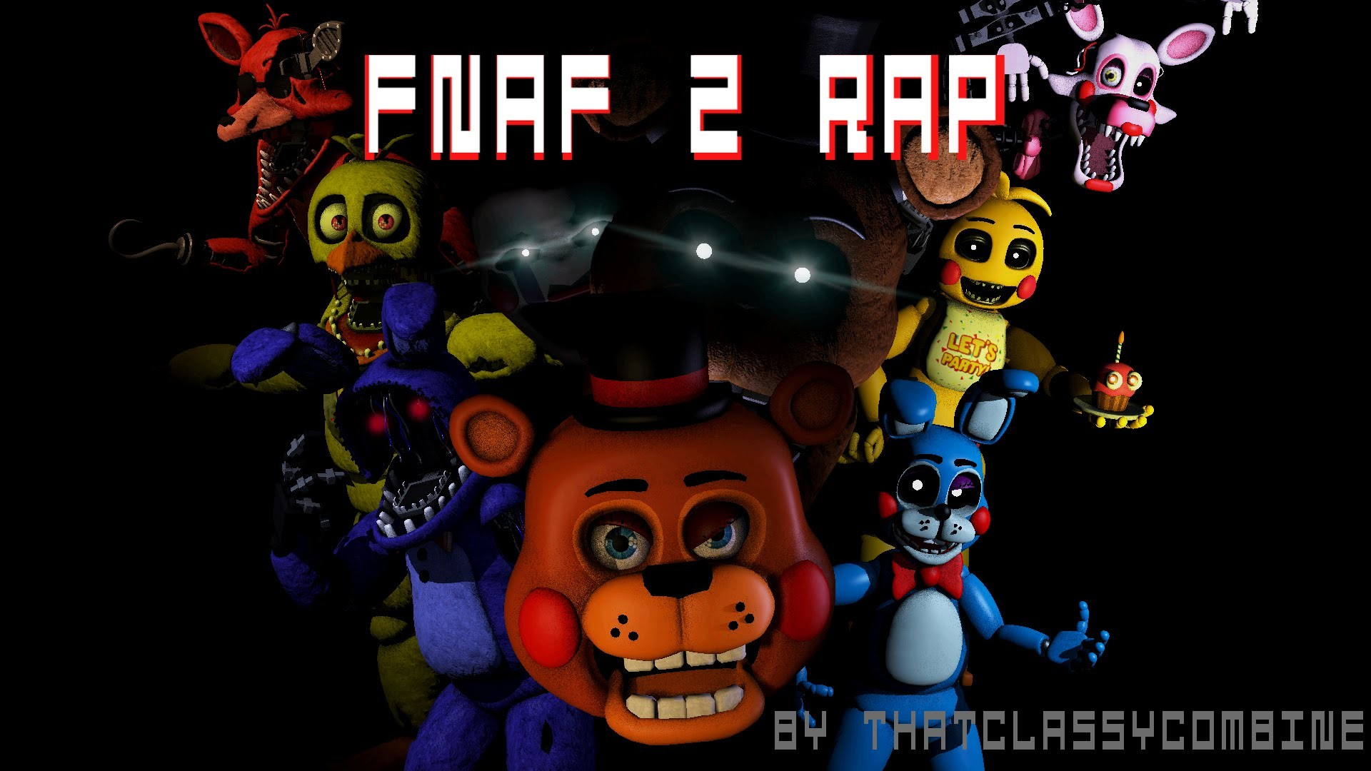 1920x1080 [SFM] FNAF 2 Rap Animated - Five More Nights - YouTube