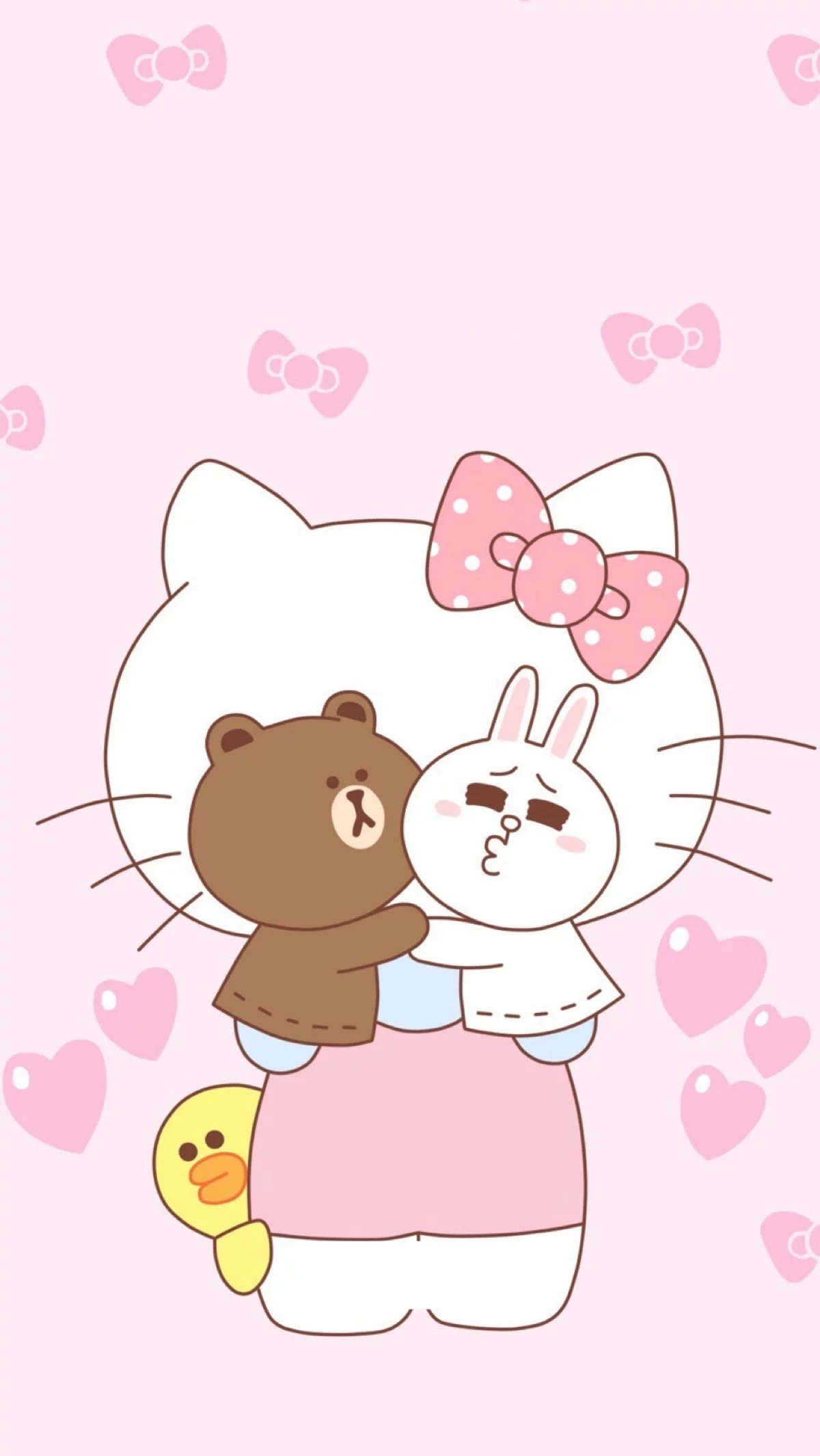 Beautiful Wallpaper Hello Kitty Friend - 1043801-hello-kitty-and-friends-wallpaper-1200x2129-1080p  HD_198343.jpg