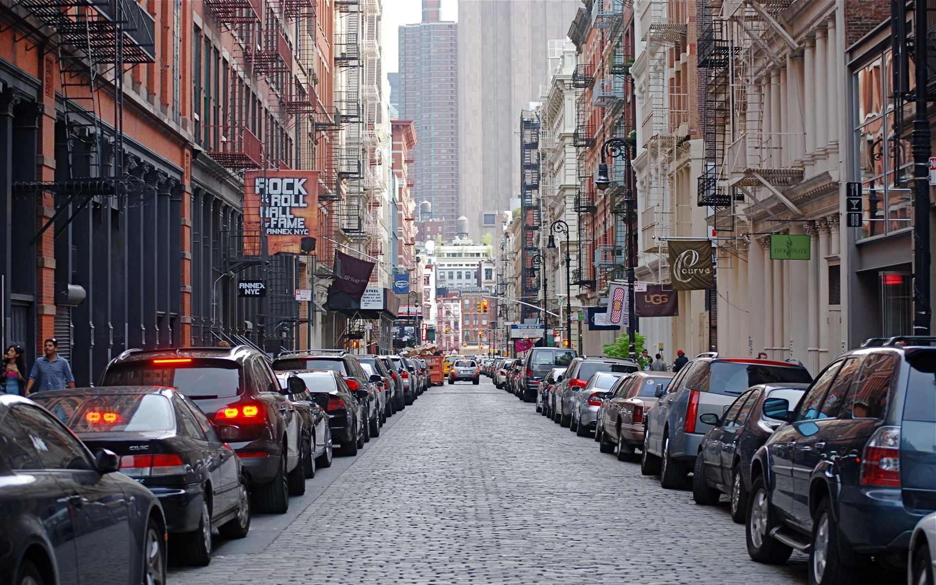 1920x1200 Street New York 345 Wallpaper