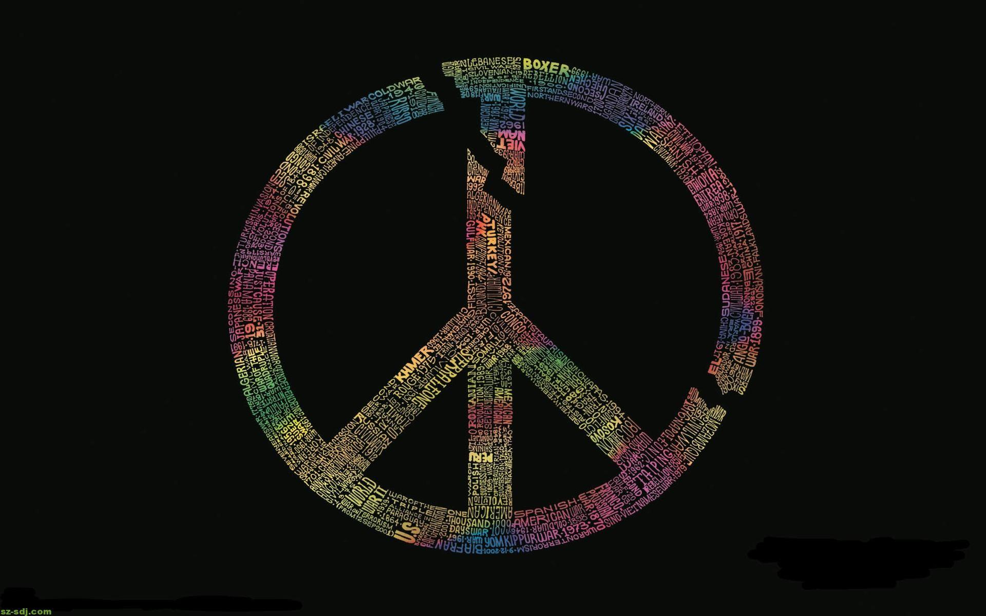 3D Peace Sign Wallpaper (62+ images)