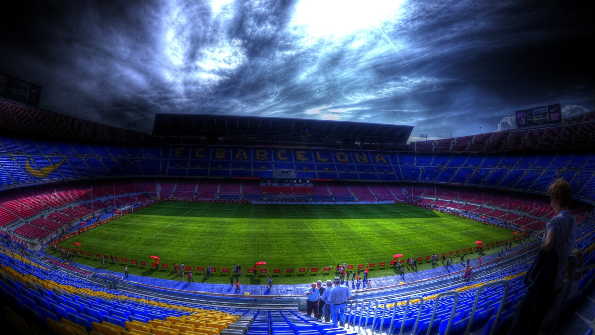 1920x1080 Awesome Camp Nou Background.