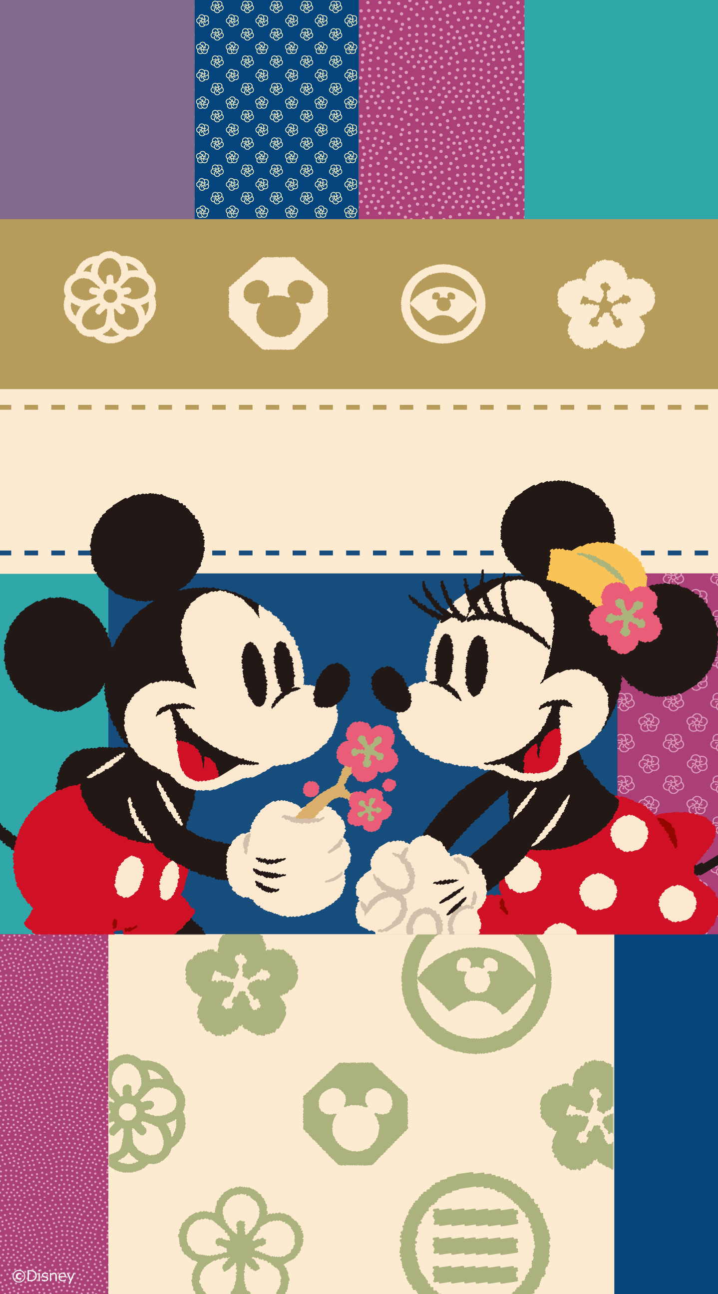 1438x2592 Mickey e Minnie