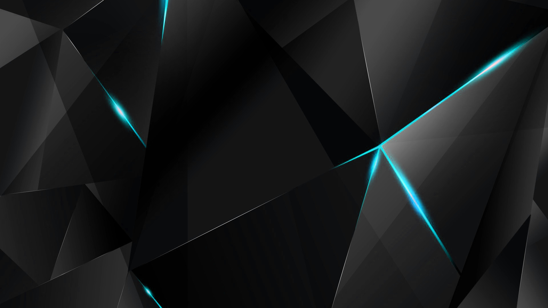 10 Latest Blue Abstract Wallpaper Hd Full Hd 1080p For Pc: Black And Cyan Wallpaper (87+ Images
