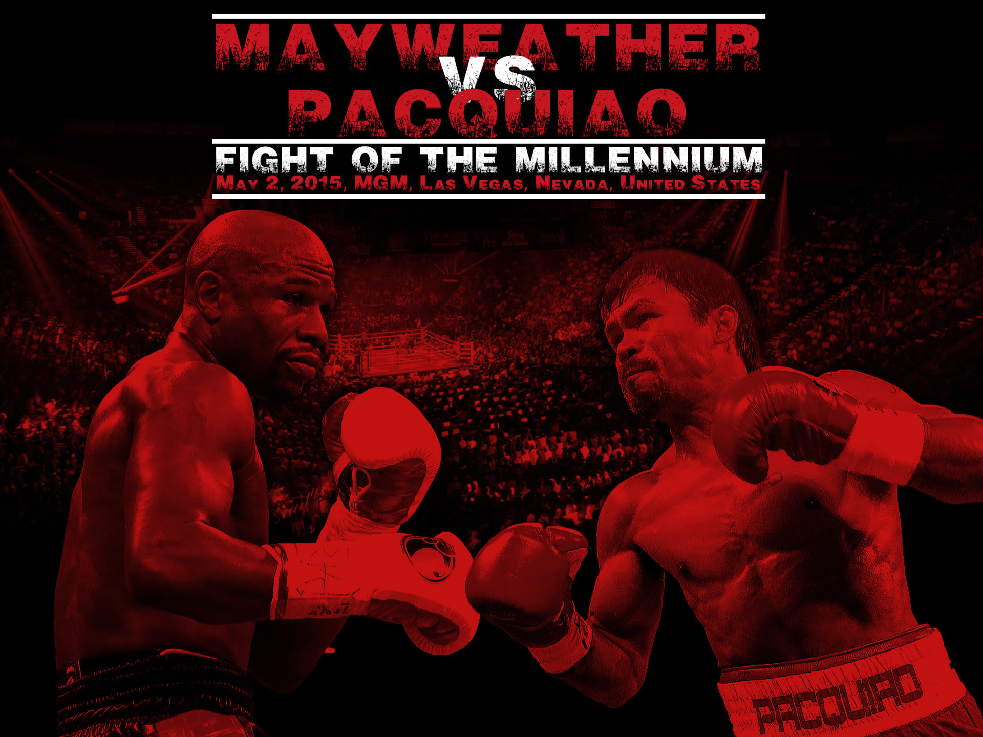 1920x1440 Floyd Mayweather Jr vs Manny Pacquiao HD Wallpapers