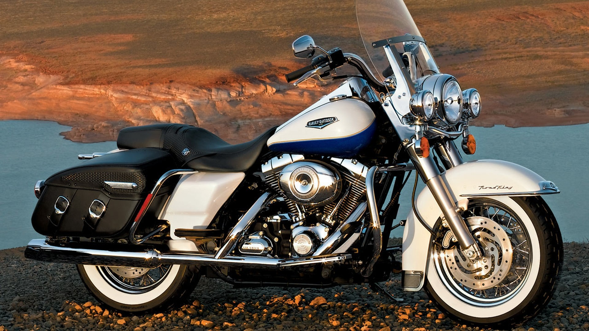 1920x1080 Harley Davidson Road King Wallpaper - WallpaperSafari ...