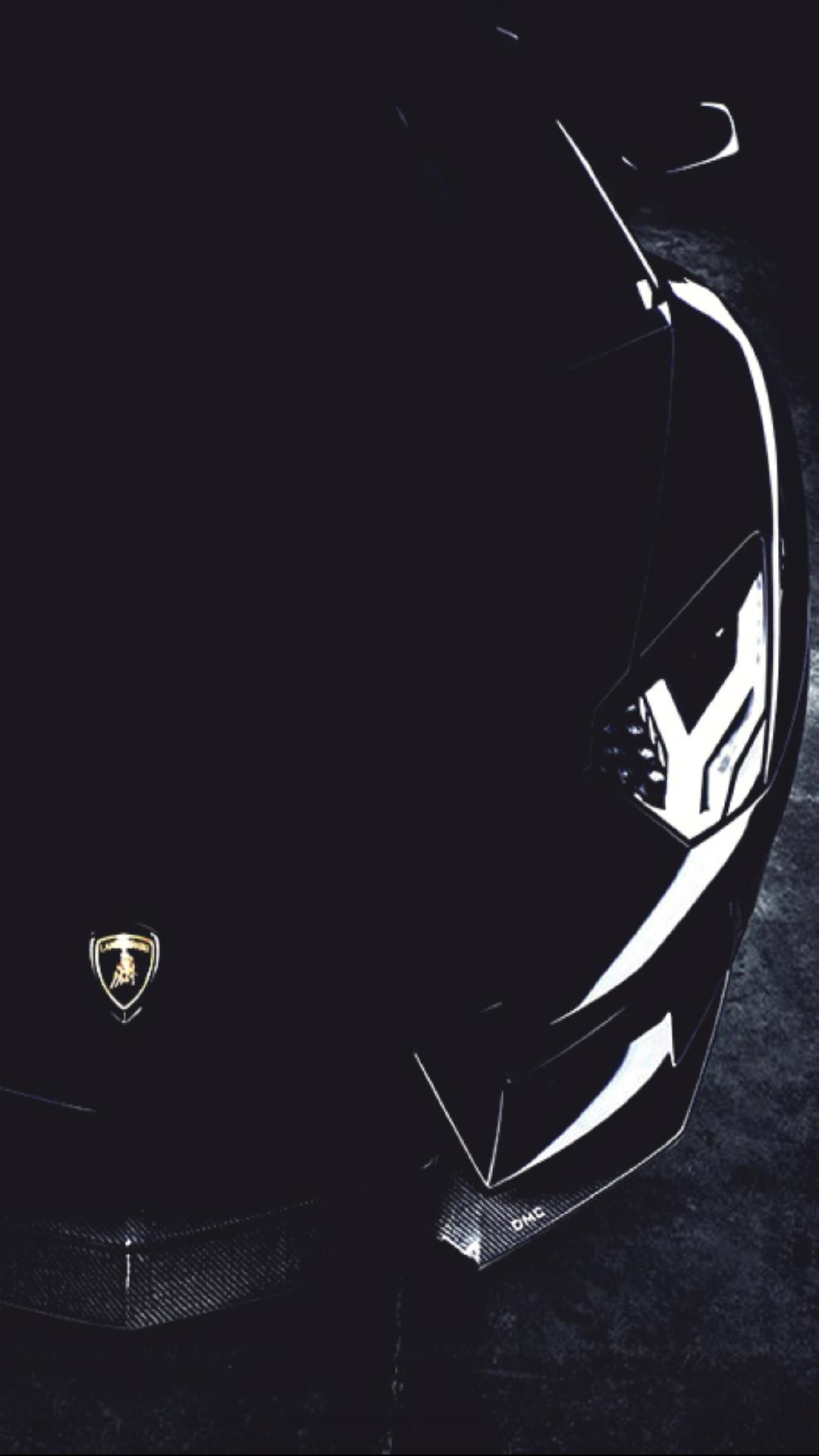 1080x1920  A Lamborghini In Black Mobile HD Wallpaper