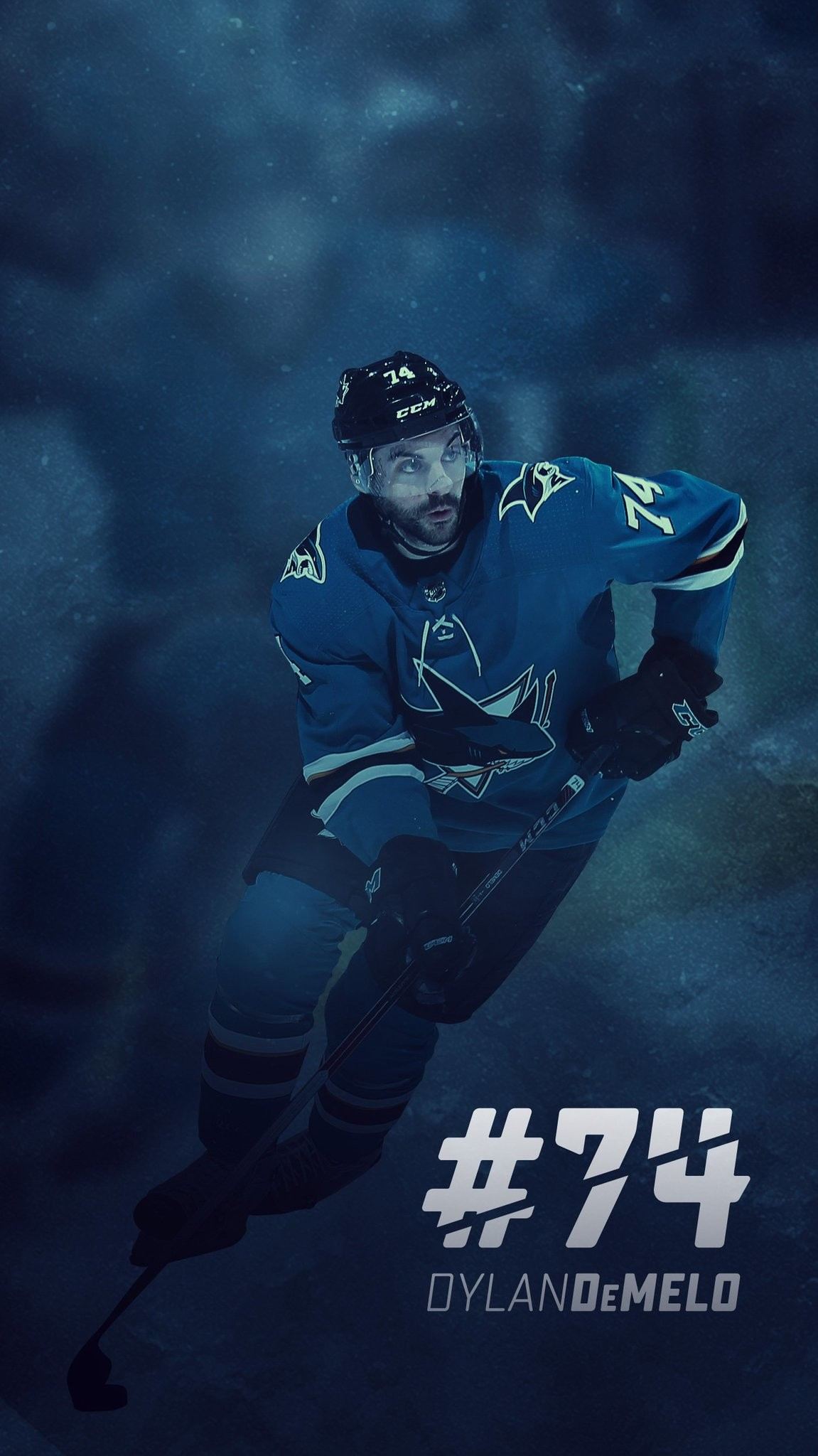 "1151x2048 x - San Jose Sharks on Twitter: ""Fresh wallpapers to make your Wednesday  that much better. #WallpaperWednesday… """