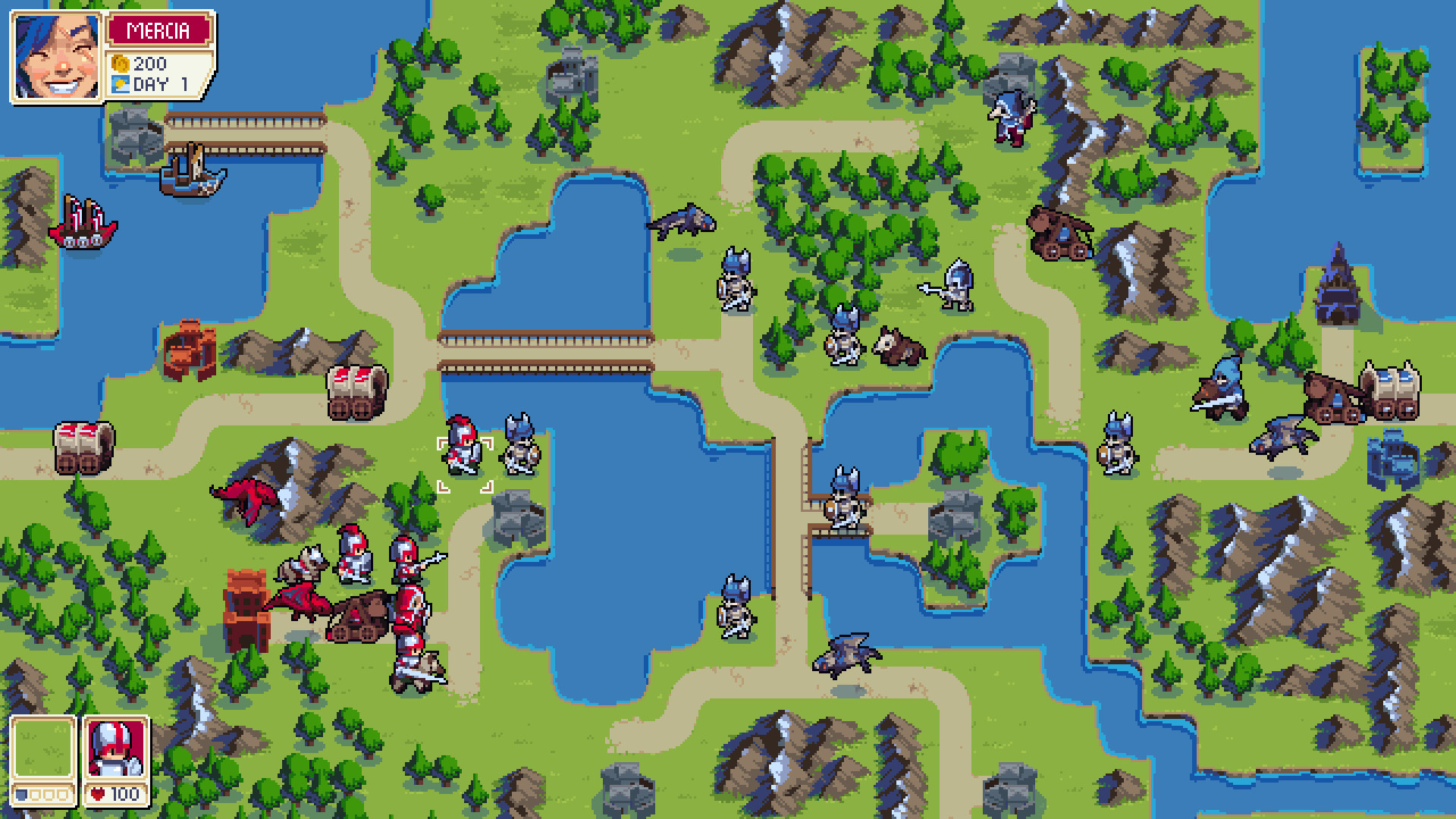1920x1080 Chucklefish reveals Wargroove, a 'spiritual successor' to Advance Wars | PC  Gamer