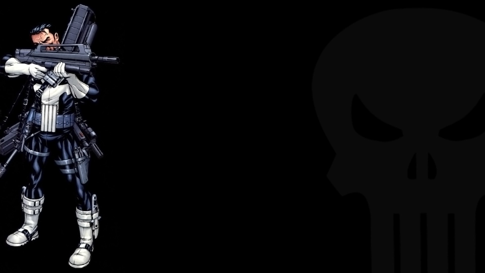 1920x1080 Showing posts & media for Punisher blue wallpaper | www .