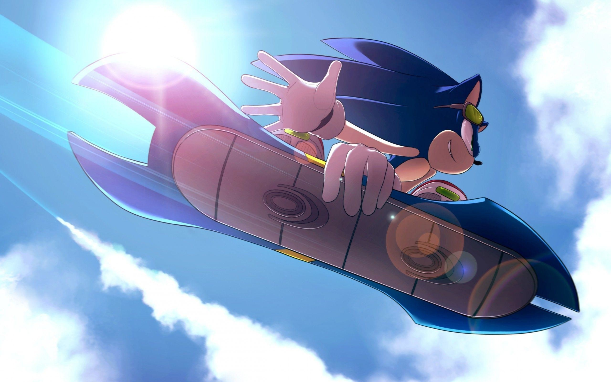 2560x1600 Sonic the Hedgehog, #hoverboard | Wallpaper No. 149354 - wallhaven.cc