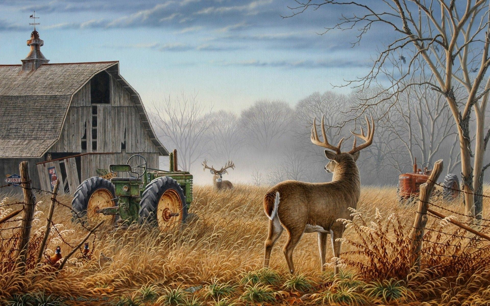 1920x1200 Deer Hunting Wallpaper For Computer