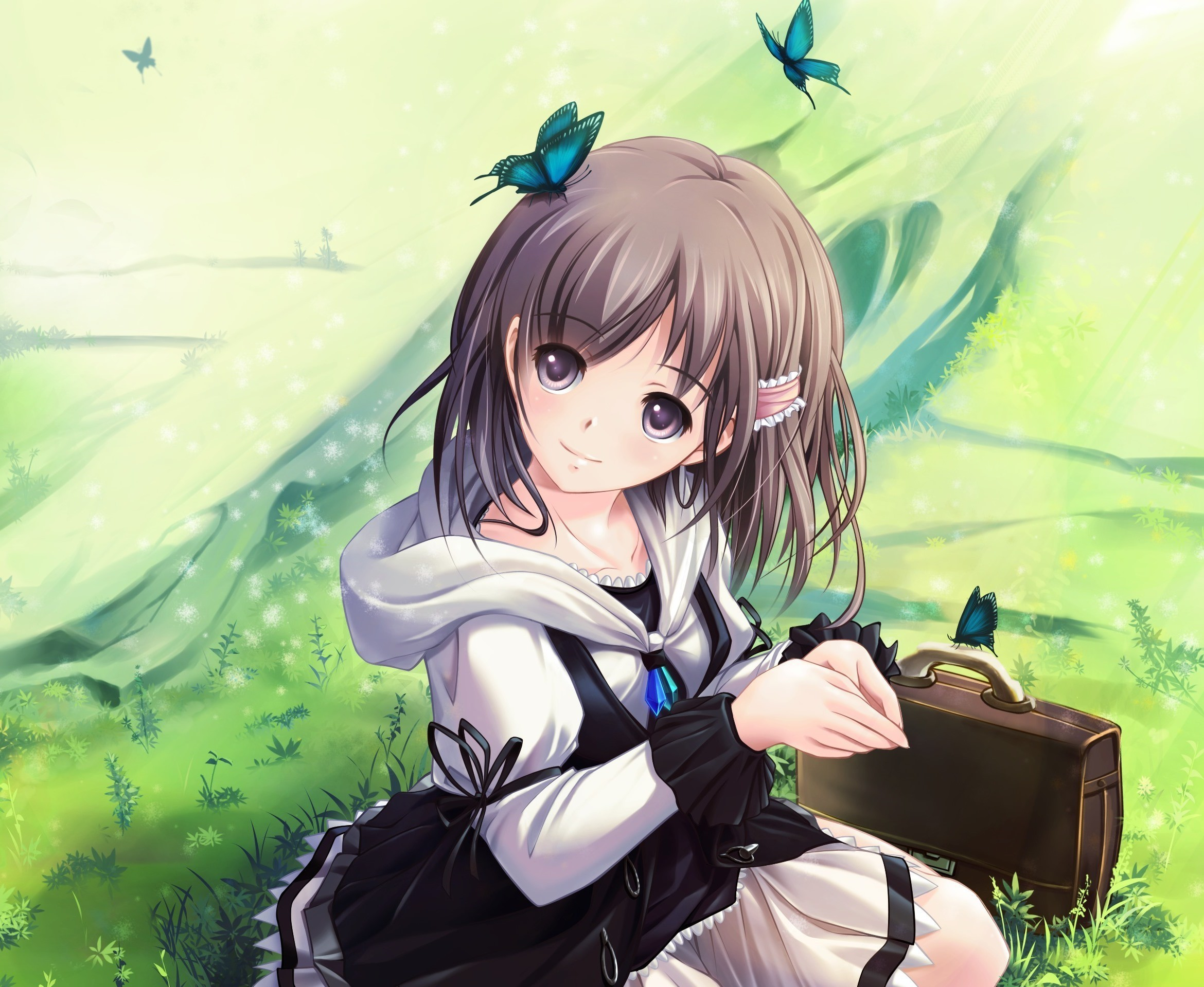 Anime girl hd wallpaper 1080p 83 images - Cute anime backgrounds ...