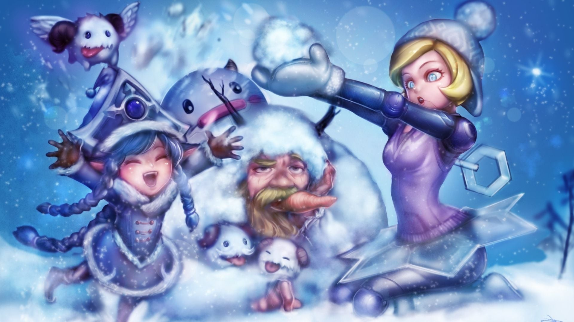 This Site Contains All Info About Olaf Christmas Wallpaper