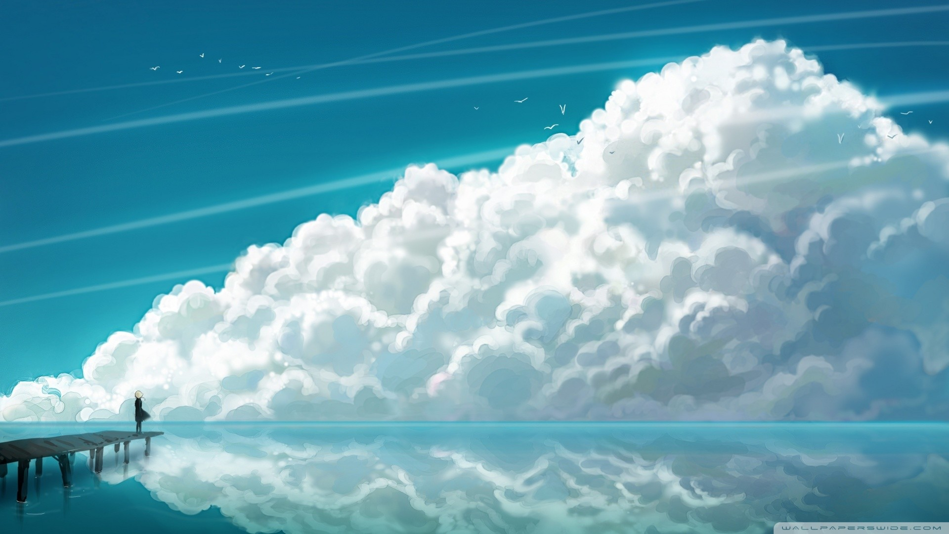 1920x1080 Sky Clouds HD desktop wallpaper : High Definition : Fullscreen ... src