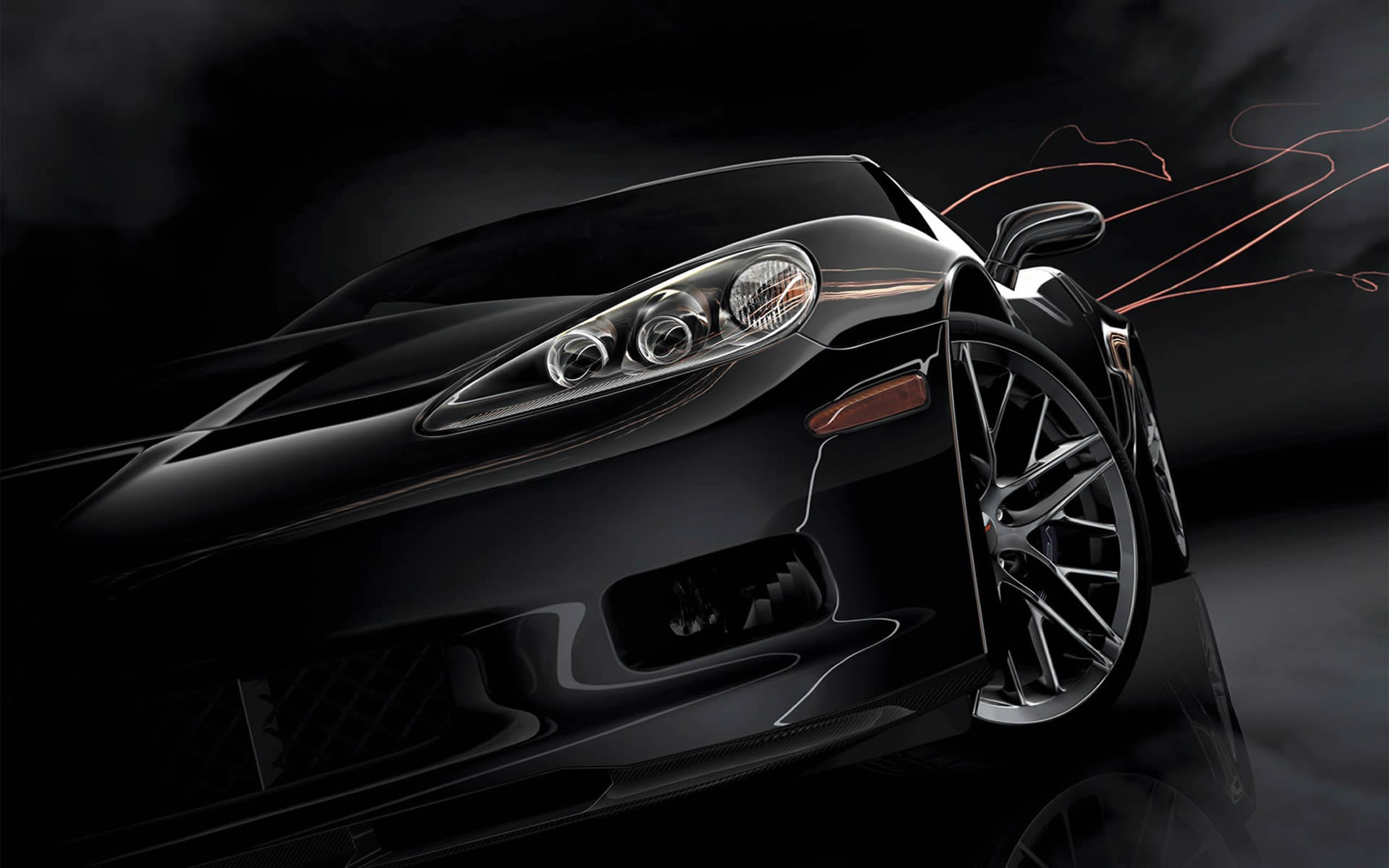 1920x1200 Car Black Background Desktop Widescreen Wallpapers 34114