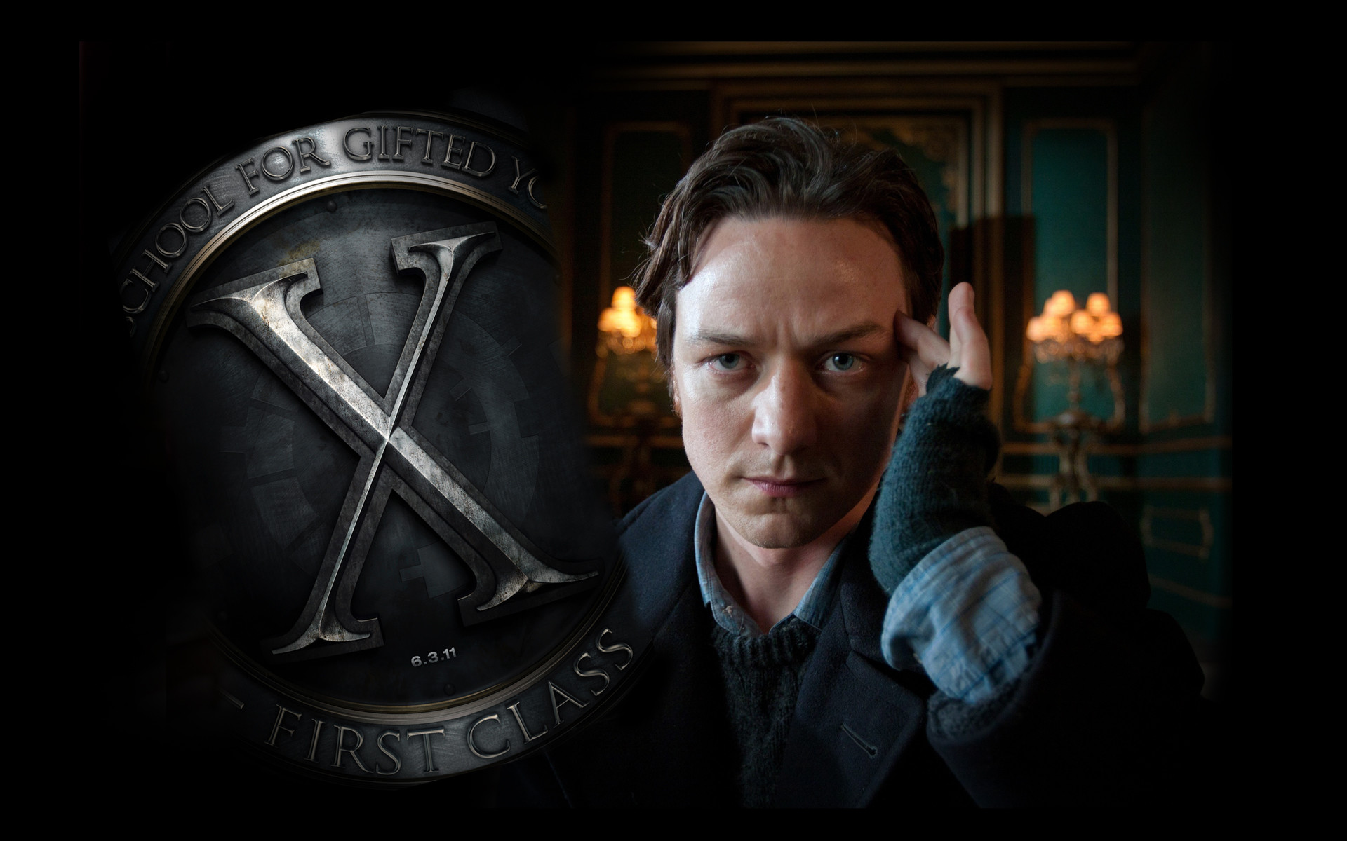 1920x1200 James McAvoy as Charles Xavier in X-Men First Class ...