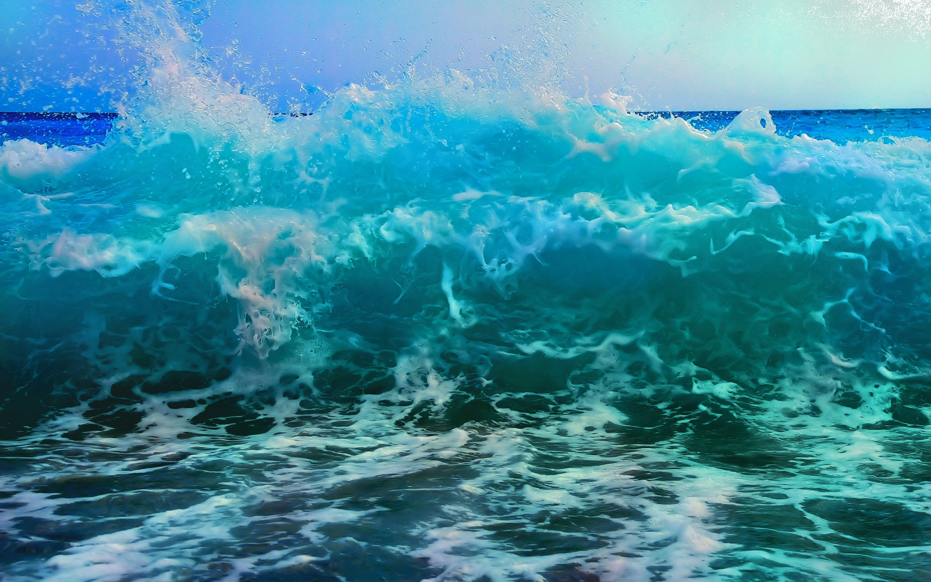 Ocean Waves Wallpaper Hd 60 Images