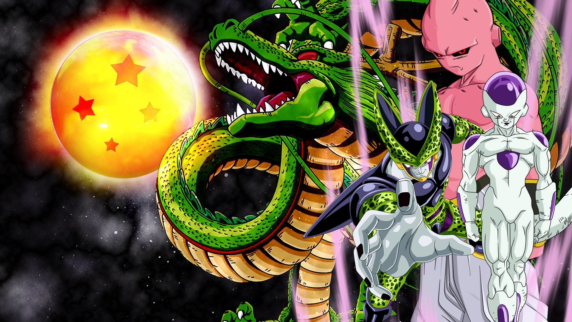 1920x1080 Frieza, cell and buu wallpaper by vuLC4no on DeviantArt