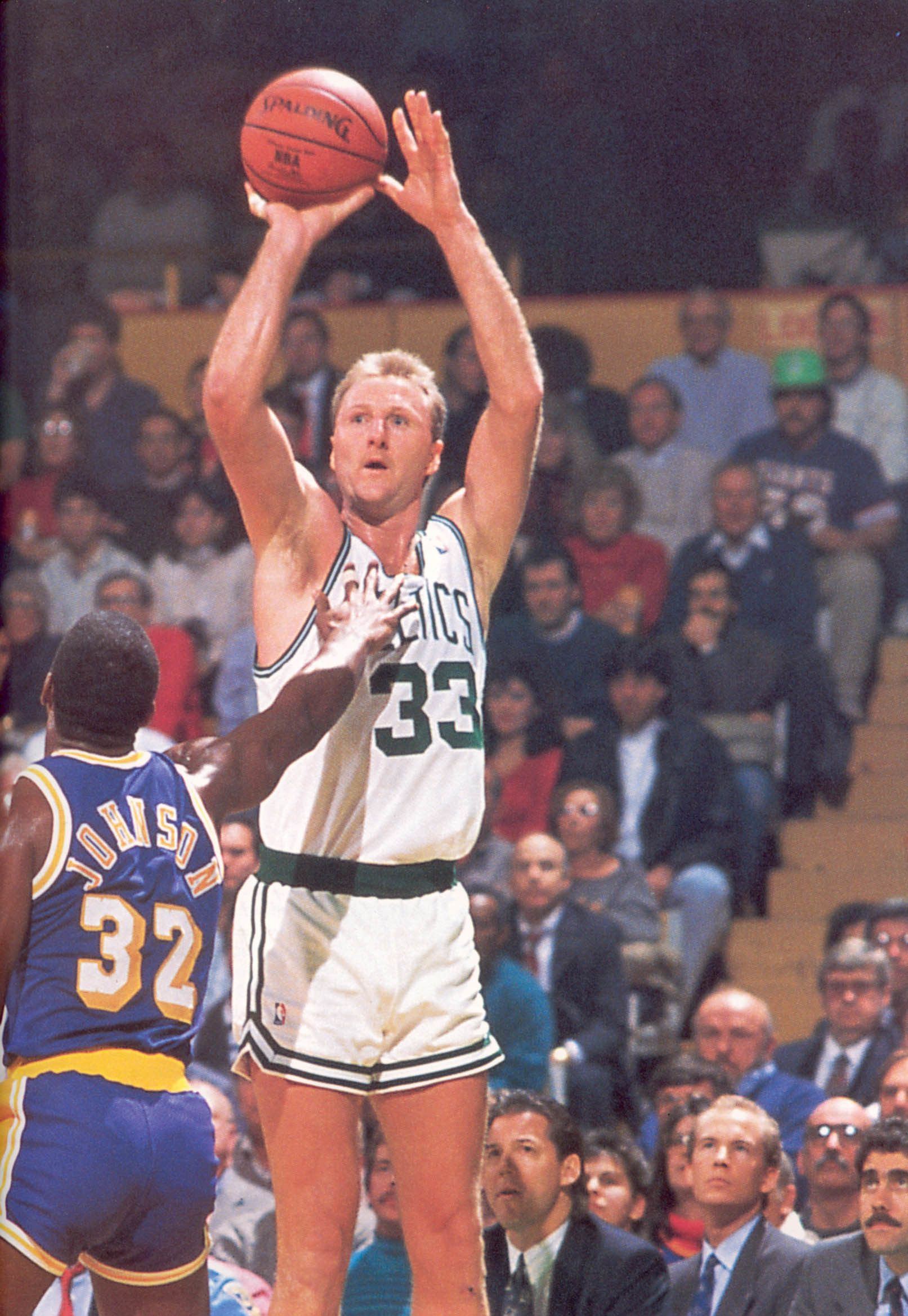 1613x2337 If Michael Jordan was the most competitive players ever, then Larry Bird  was number 2. This guy was out for blood when he was on the court, and he  had the ...