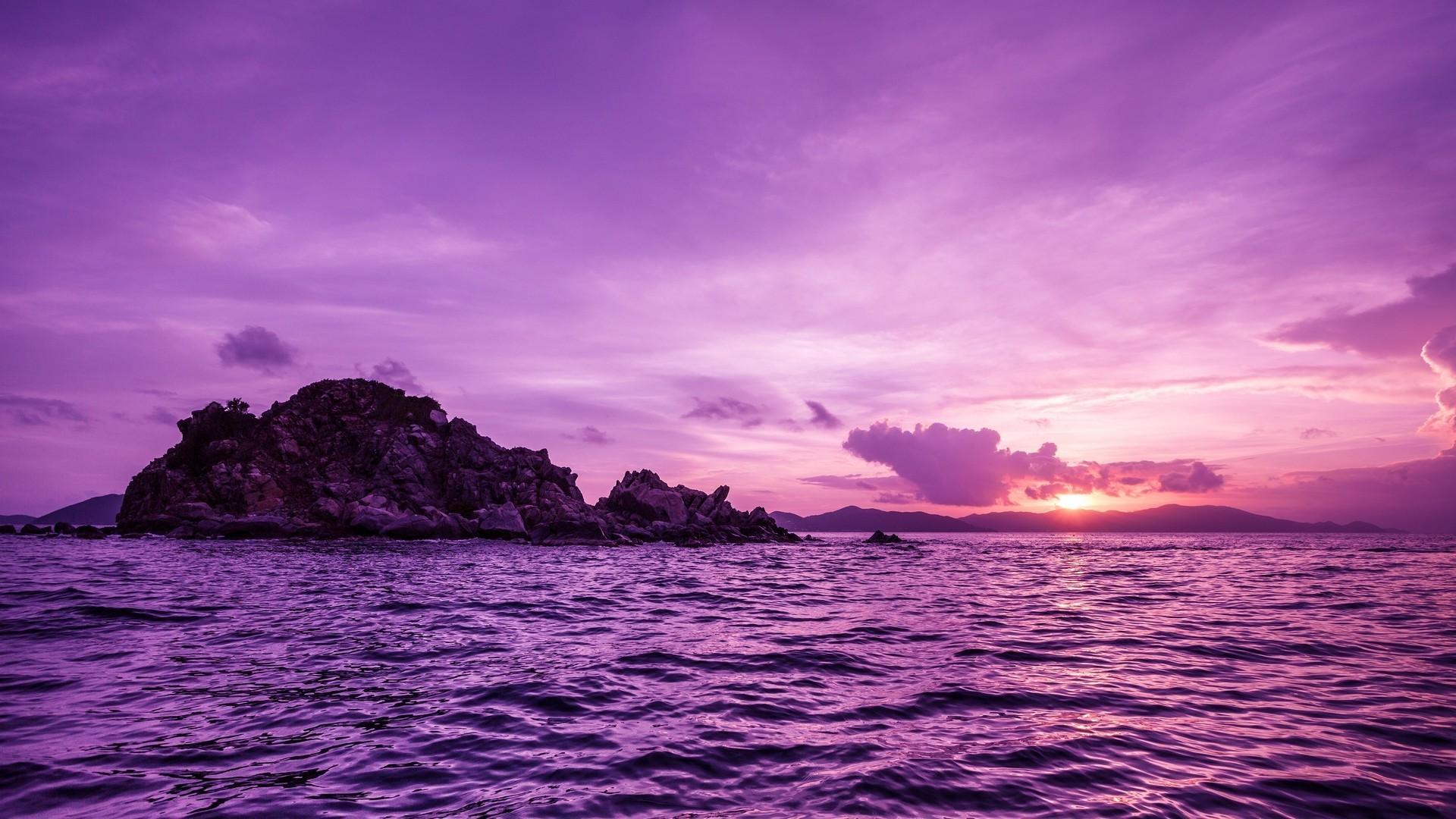 Purple Nature Wallpaper (44+ images)