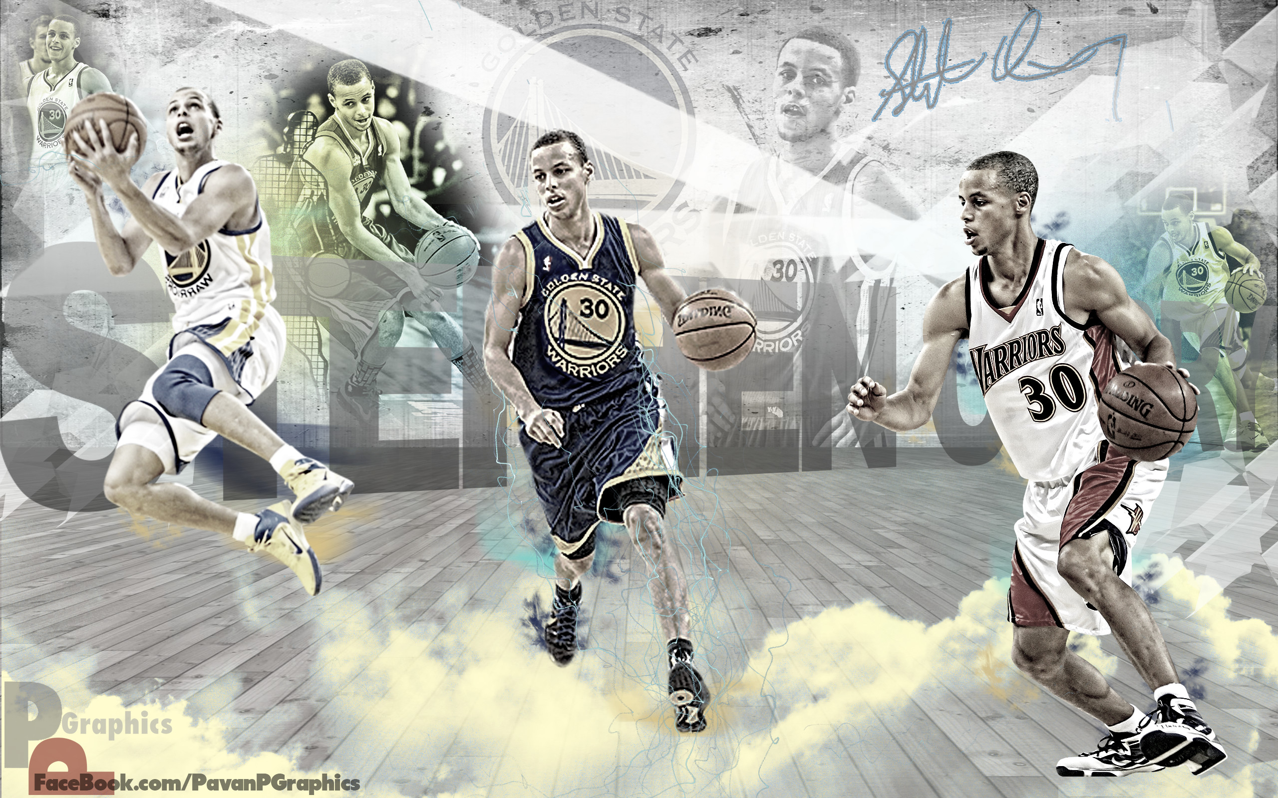 2560x1600 ... FunMozar – Stephen Curry Wallpaper Shooting 2 ...