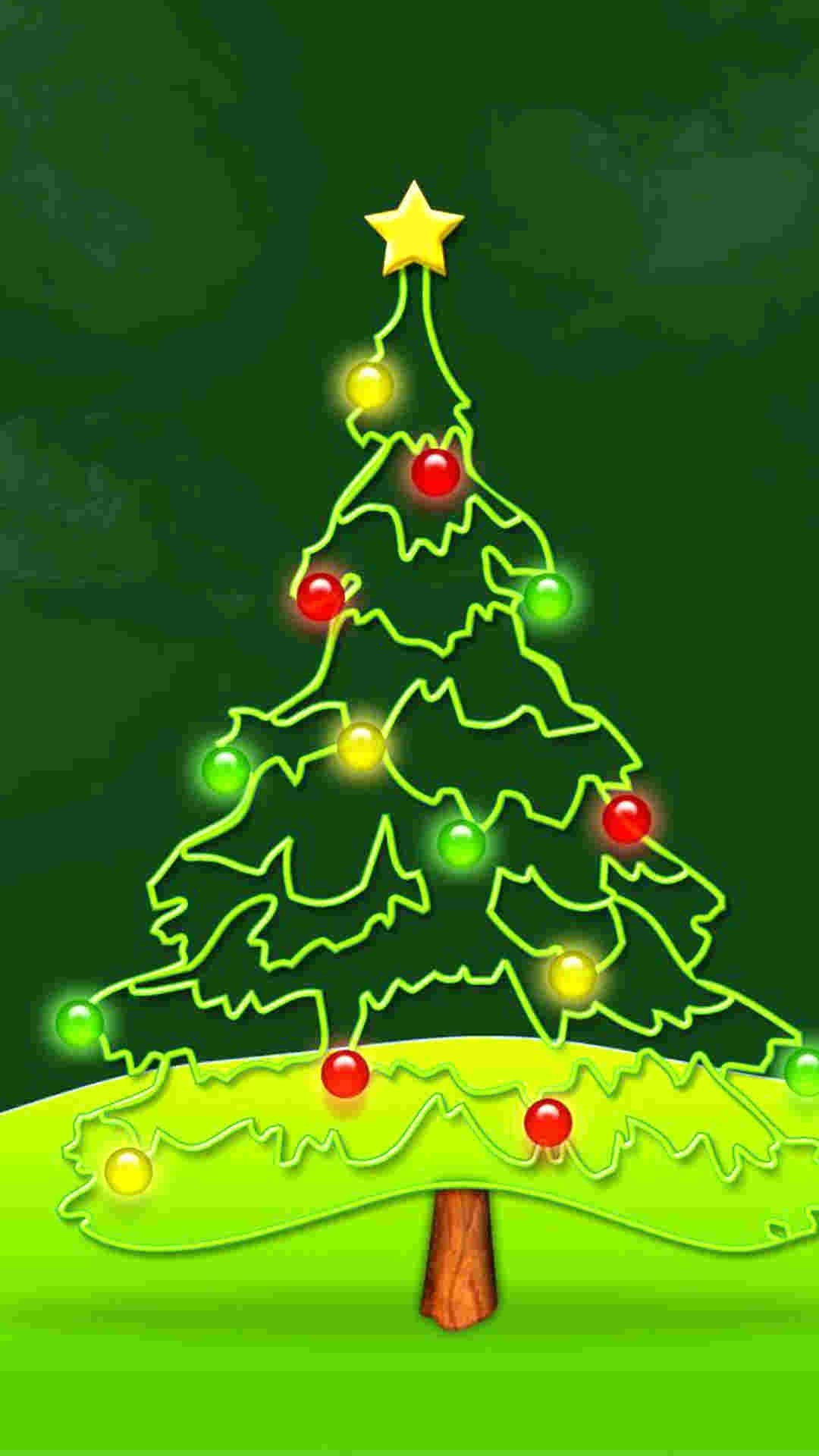 1080x1920 pink light 2014 christmas tree iphone 6 plus wallpaper nature 2014 christmas