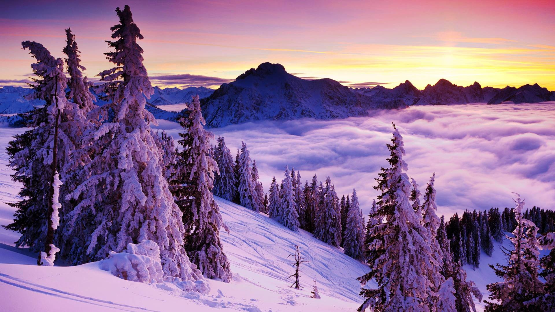 1920x1080 Beautiful Winter Landscape Hd Images 3 HD Wallpapers