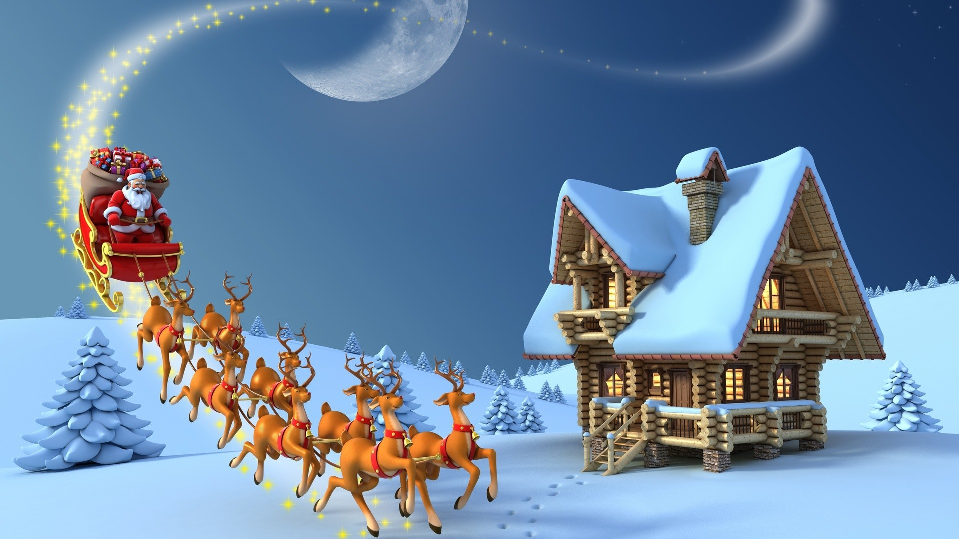 1920x1080 ... Christmas Wallpapers High Resolution Collection ...