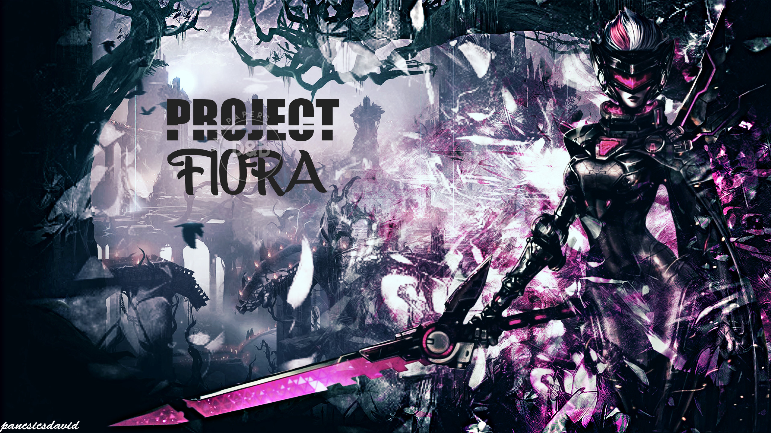 2560x1440 ... League Of Legends - PROJECT Fiora wallpaper by pancsicsdavid