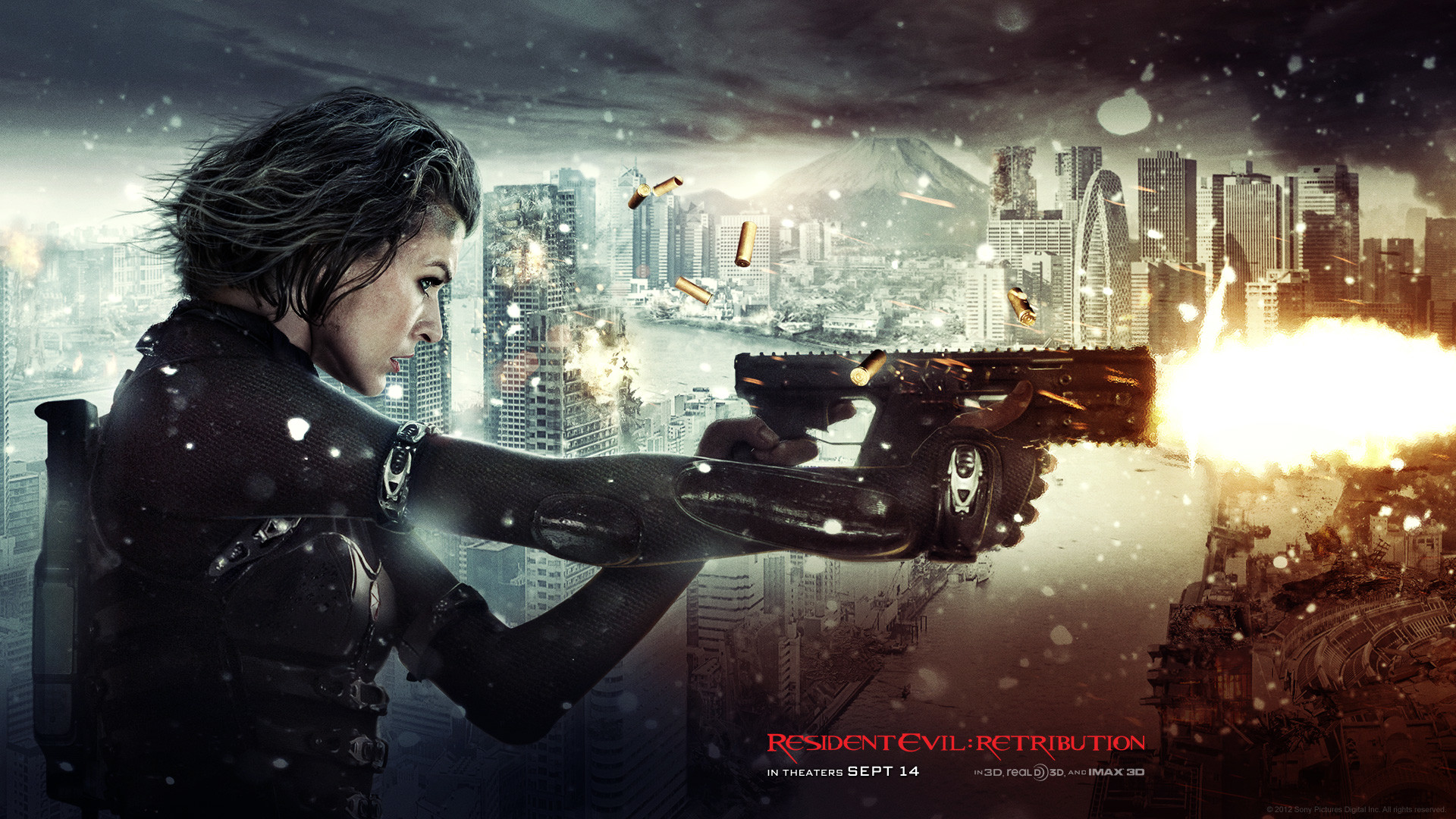 1920x1080 Resident Evil 5 Retribution Movie HD Wallpaper - iHD Wallpapers