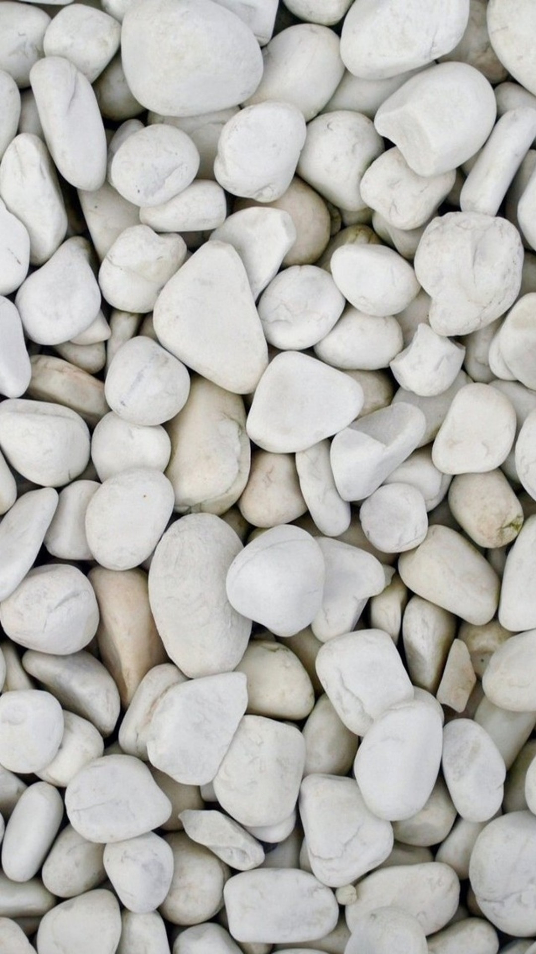1080x1920 Beach White Pebble Rock Clitter Background iPhone 6 wallpaper