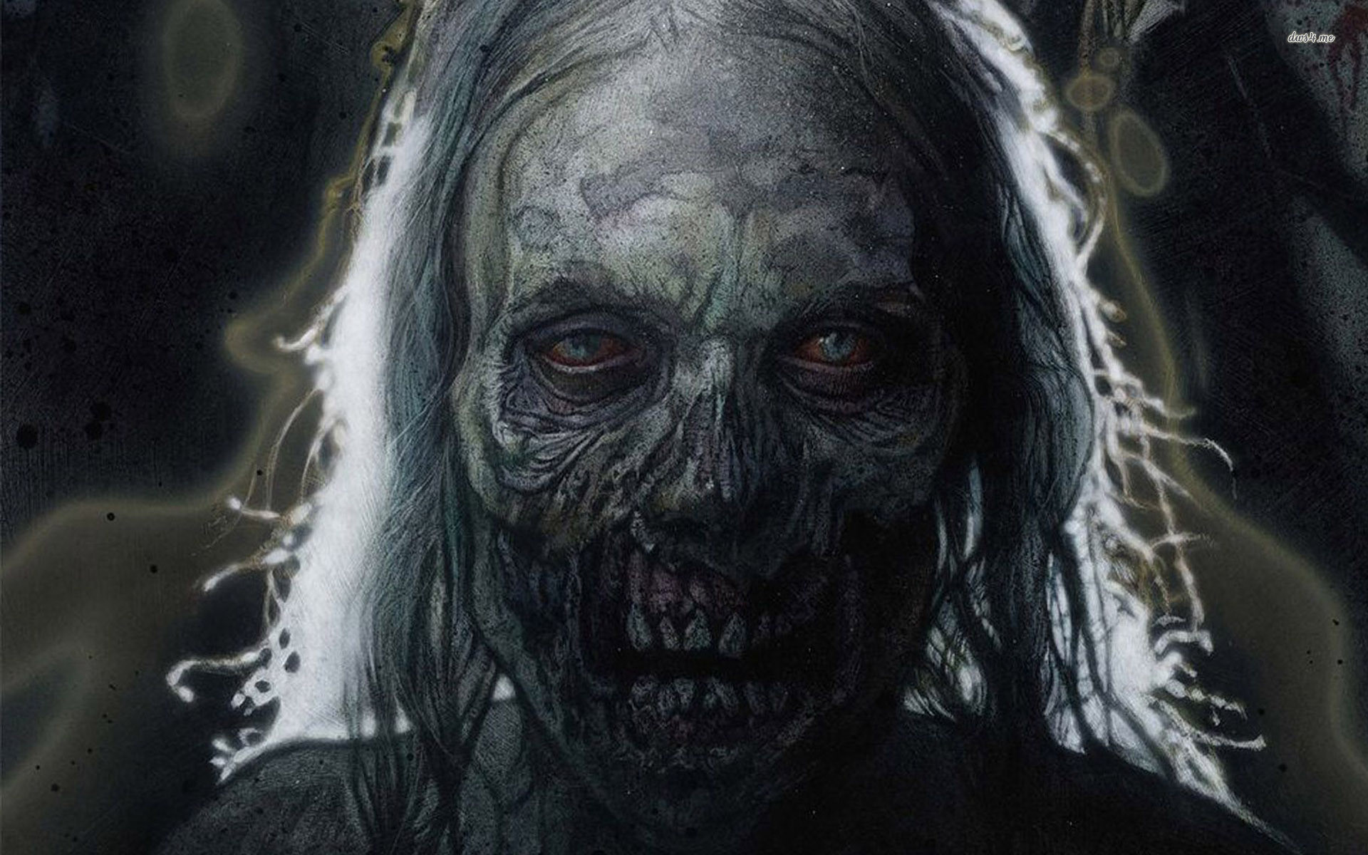 Zombies Wallpaper 1920x1080 Scary Zombie Wa...