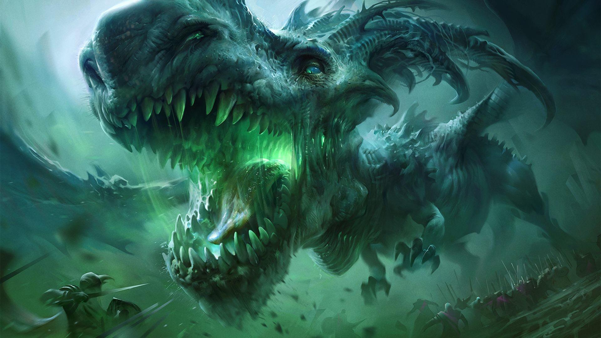 Green dragon wallpaper 71 images - Images de dragons ...