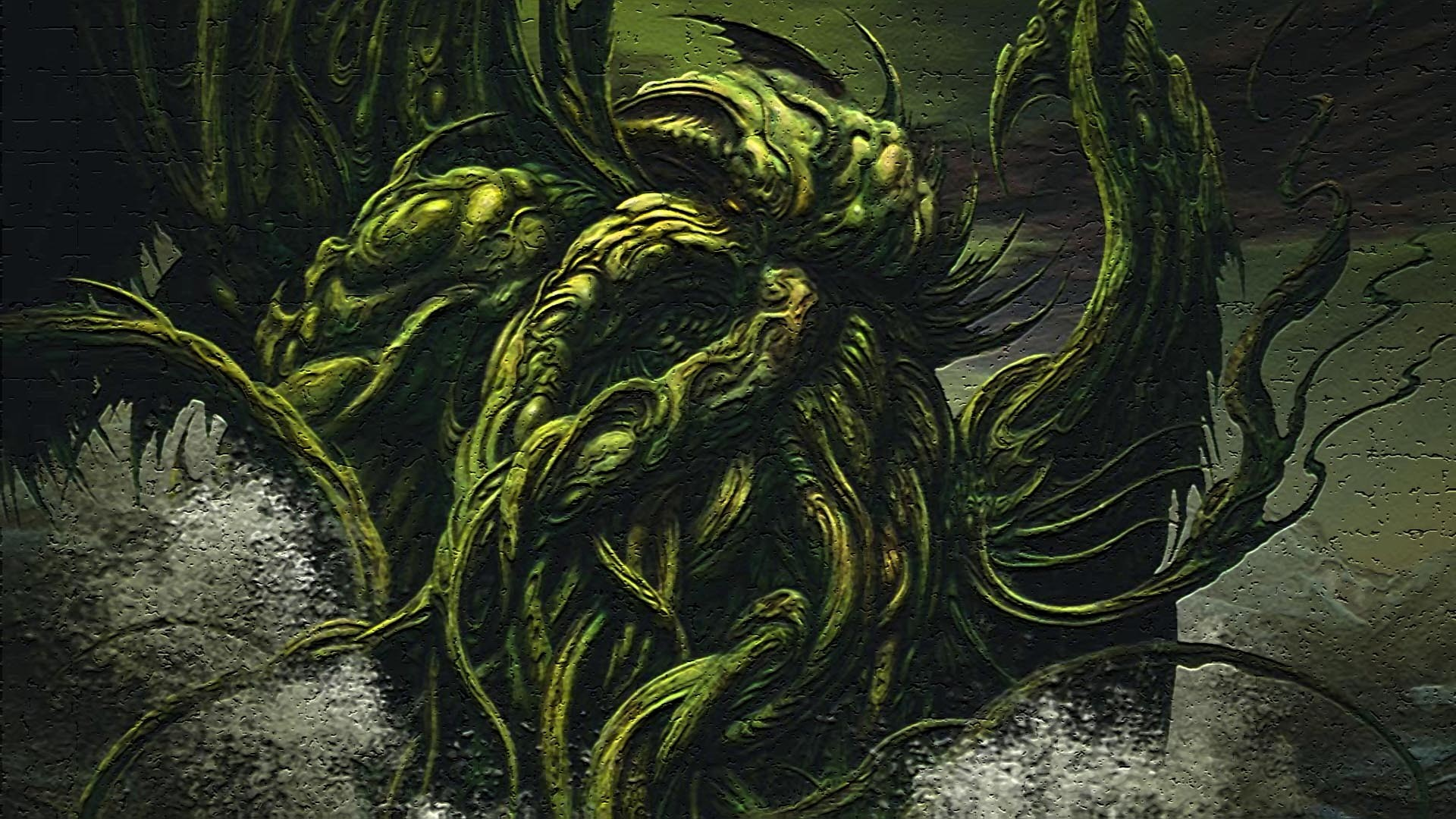 1920x1080 cthulhu wallpaper to download (Essex Walter )