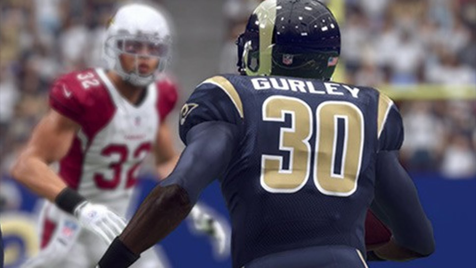 1920x1080 Doing em with Todd Gurley:::Madden 16 Ranked game::: Rams vs Cowboys -  YouTube