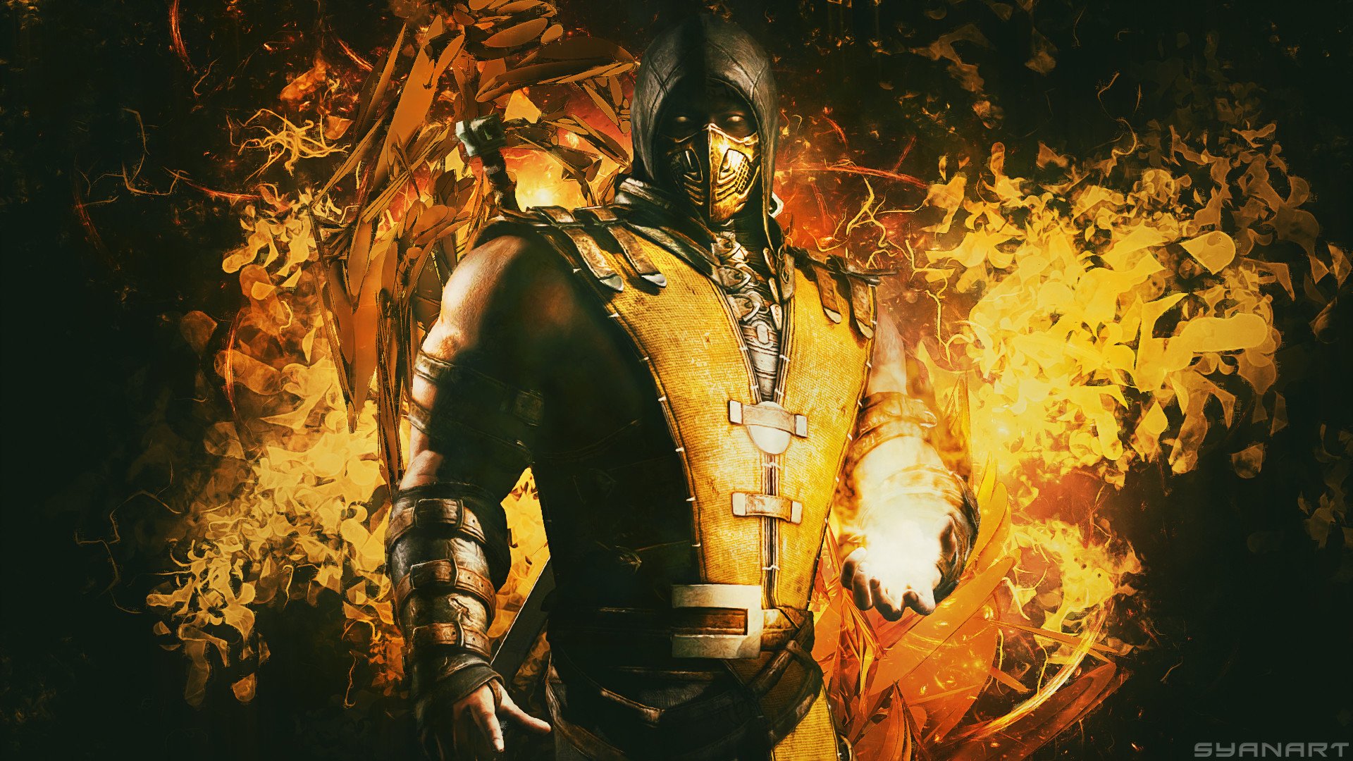 mortal kombat scorpion wallpaper (68+ images)