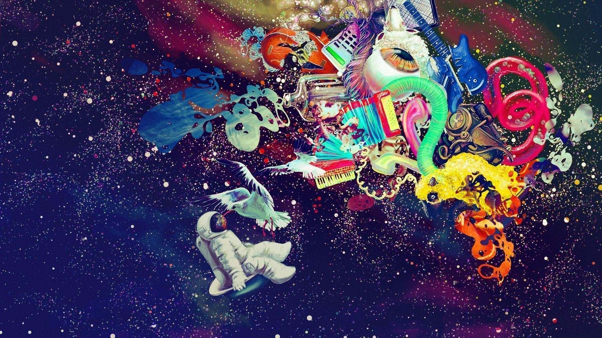 Stoner Blog Trippy Weed Wallpapers Group