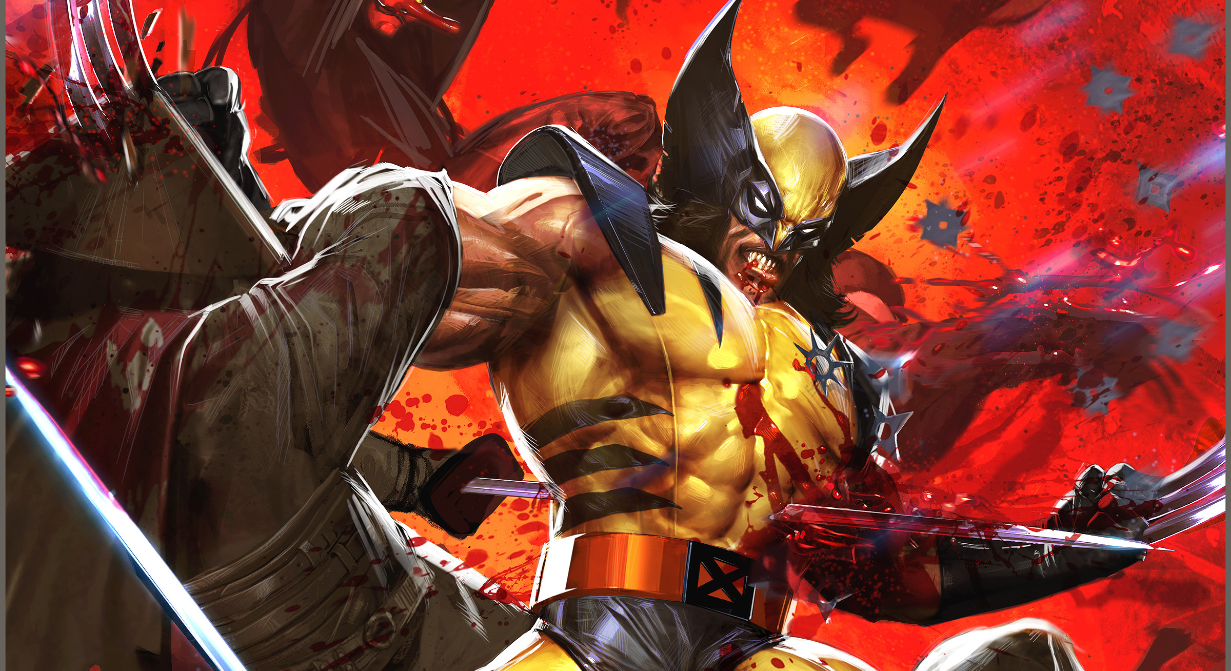 2400x1308 HD Wallpaper | Background ID:244387.  Comics Wolverine