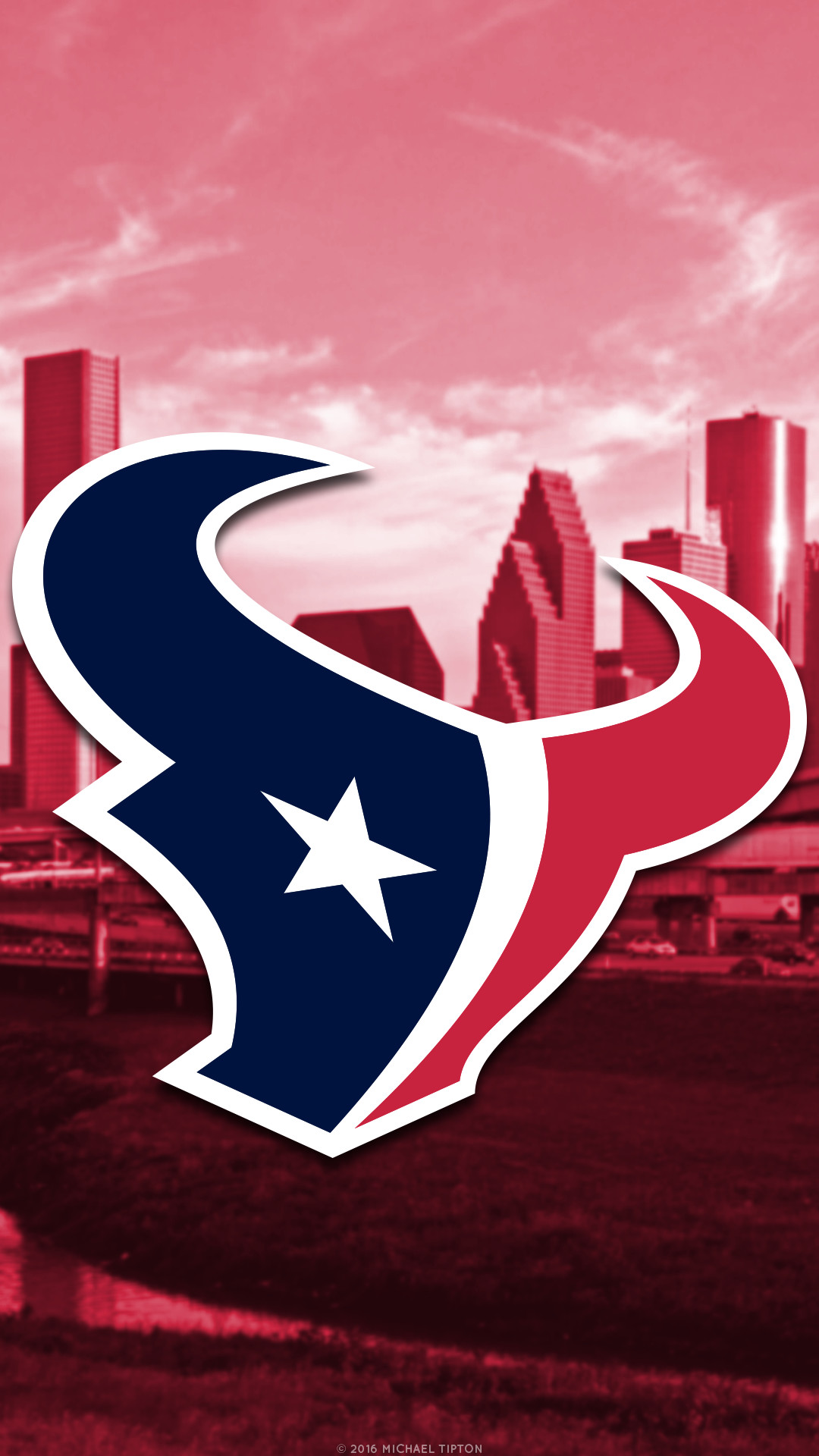 1080x1920 ... nfl houston texans city logo iphone android background