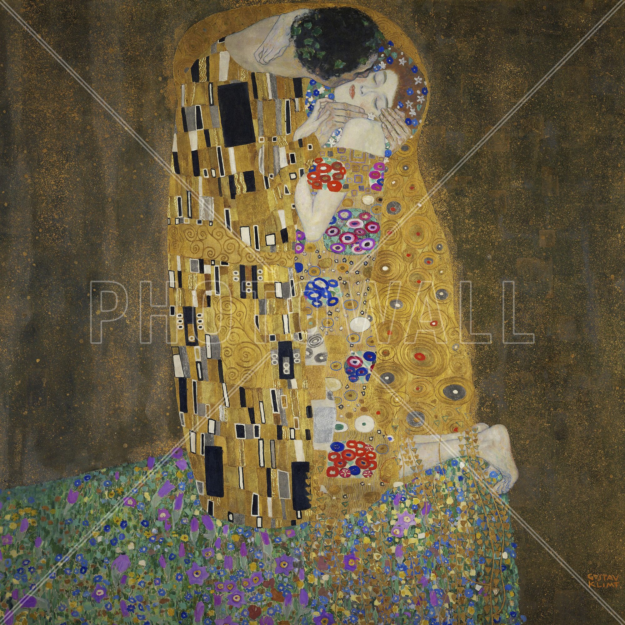 2000x2000 Images of 4k Wallpaper Gustav Klimt - #SC ...