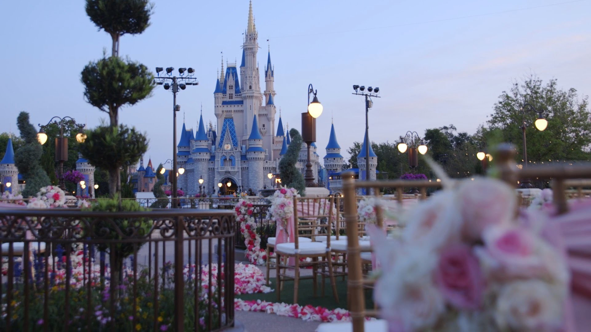 1920x1080 Get married in the Magic Kingdom with Disney's Fairy Tale Weddings - YouTube