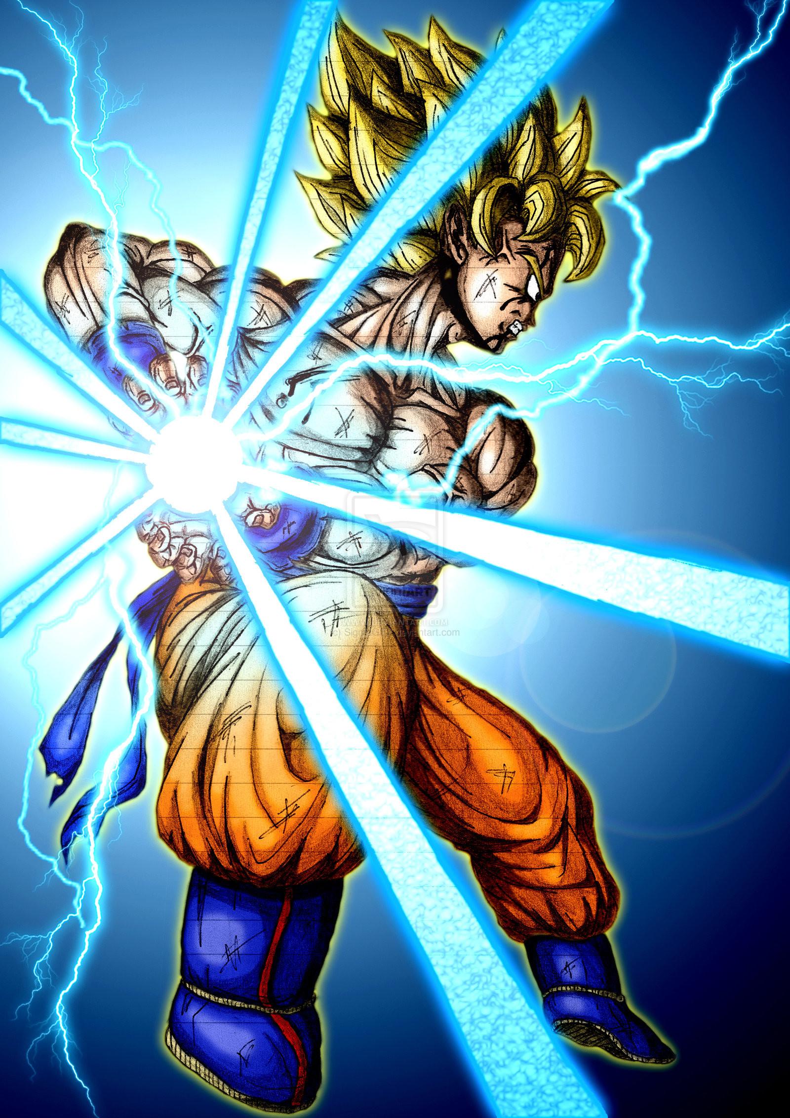 Goku Kamehameha Wallpaper (69+ images)