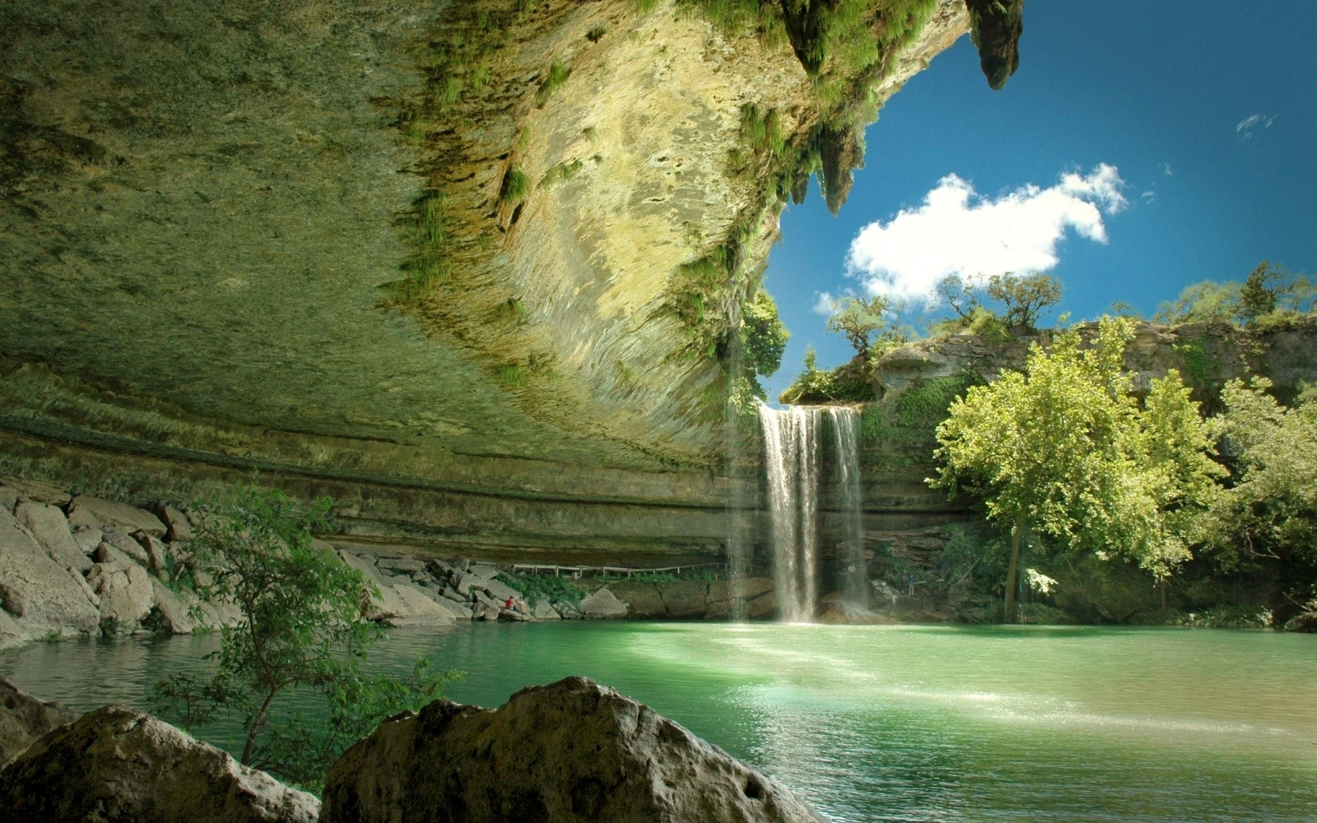 1920x1200 Widescreen Wallpapers: Waterfall, (, V.53)