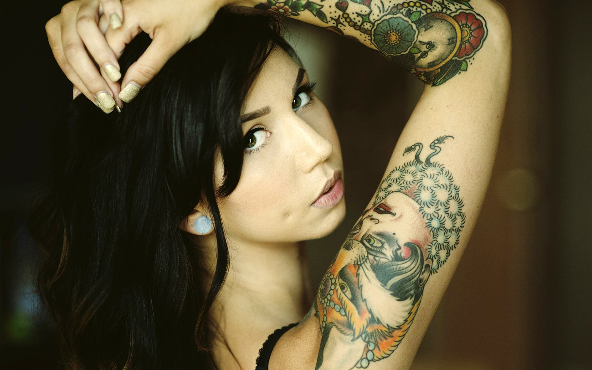 1920x1200 Image for Girl Tattoos Tumblr Cute Wallpaper Desktop