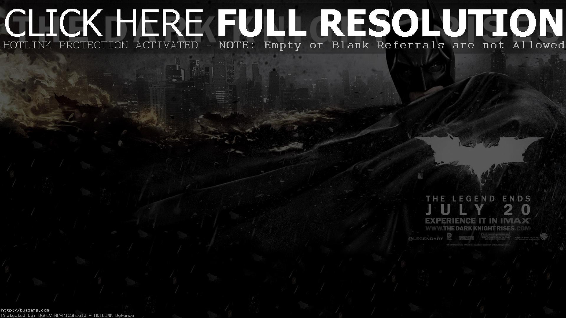 1920x1080 The Dark Knight Rises Wallpaper