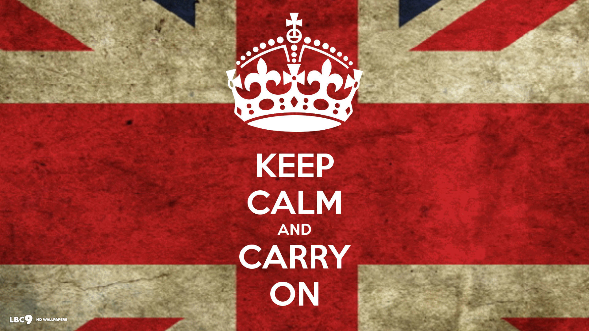 1920x1080 Keep Calm And Carry On British Flag Union Jack Wallpaper