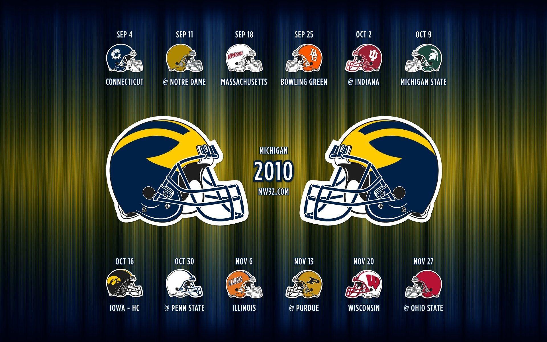 Awesome Michigan Wolverines Wallpaper: Michigan Football Desktop Wallpaper (71+ Images