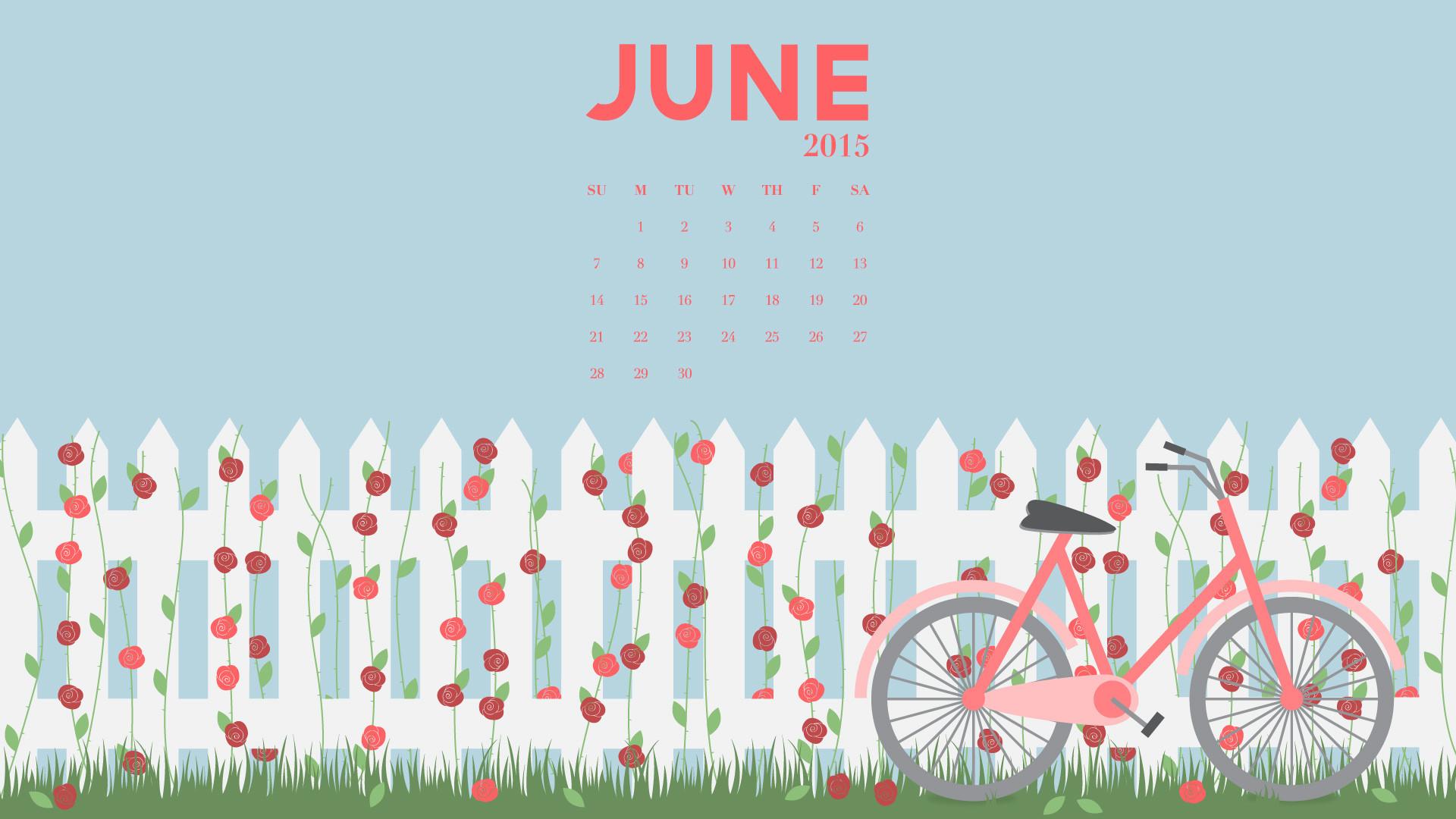 June Calendar Desktop Wallpaper : Desktop wallpapers calendar june  images